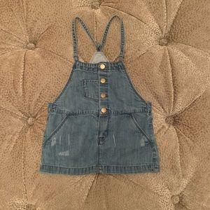 Zara Baby Girl Denim Dress